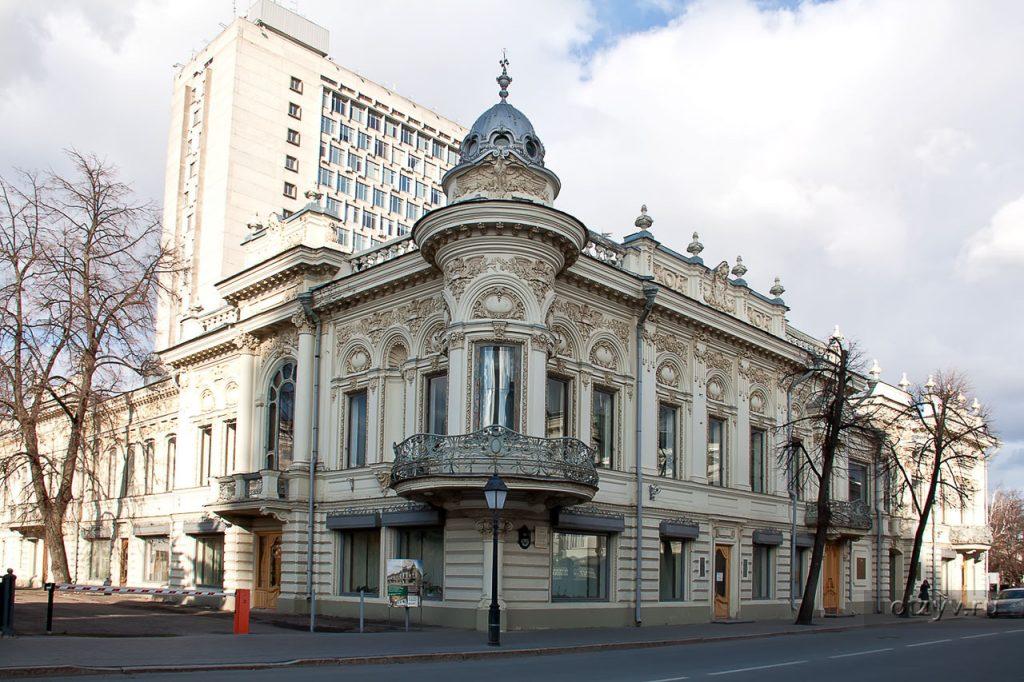 Дом Ушковой