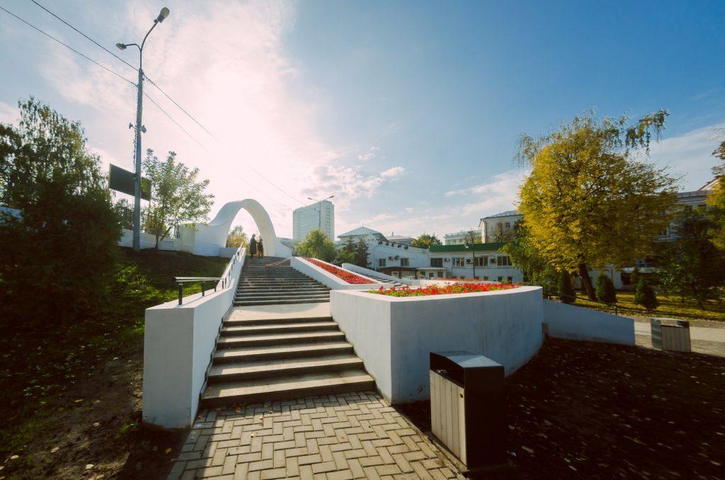Парк Черное озеро в Казани