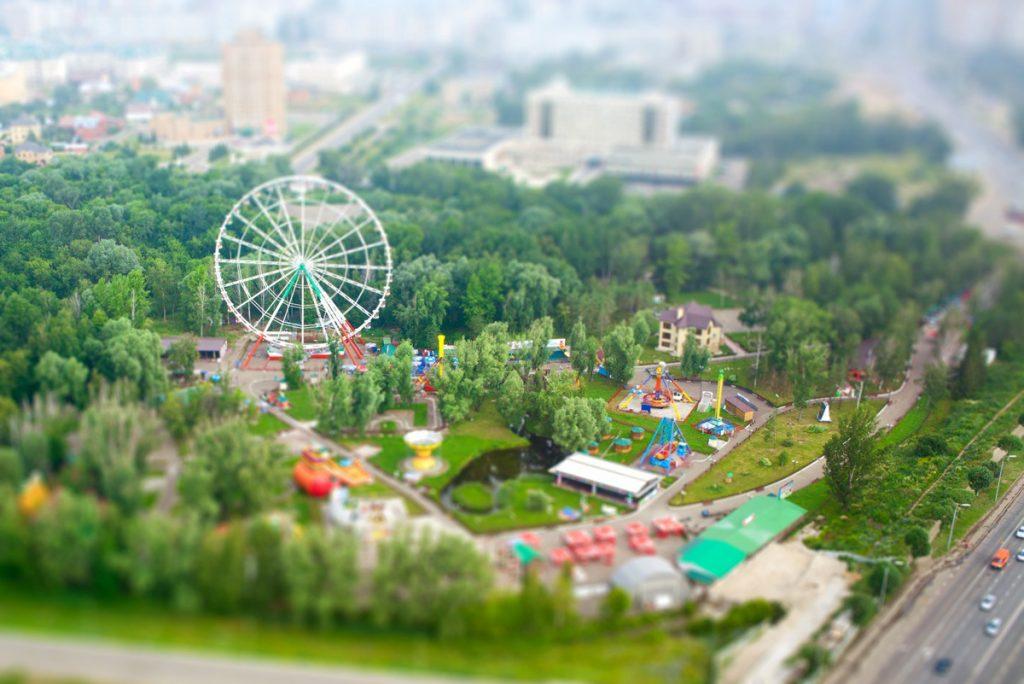 Парк Кырлай в Казани